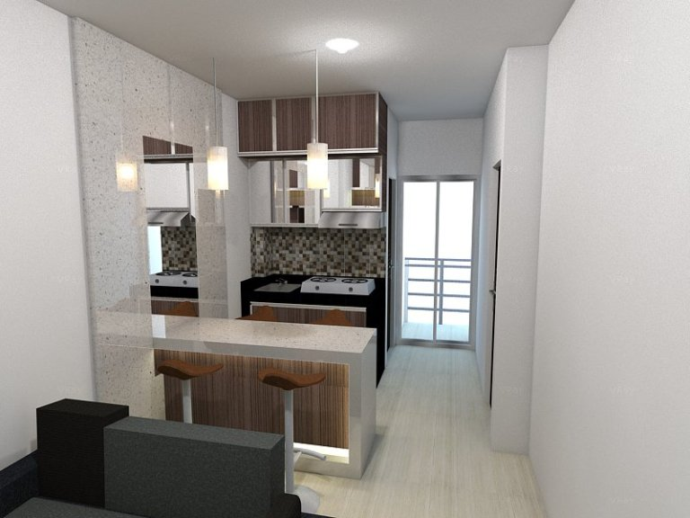 Kitchen set with mini bar Apartment Project